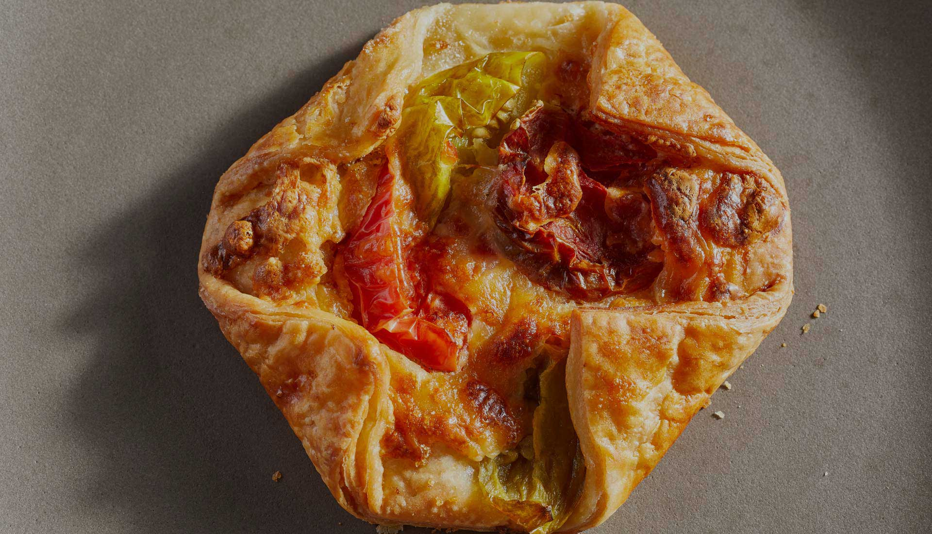 savory galette from Baker & Cook